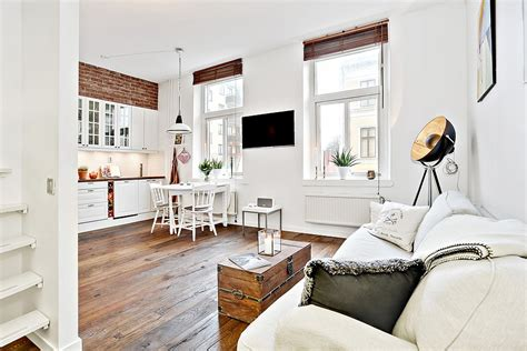 Decorations For Dining Room Table by This Bright 323 Sq Ft Studio Apartment Looks Triple Its
