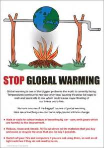 Global Warming Projects Examples