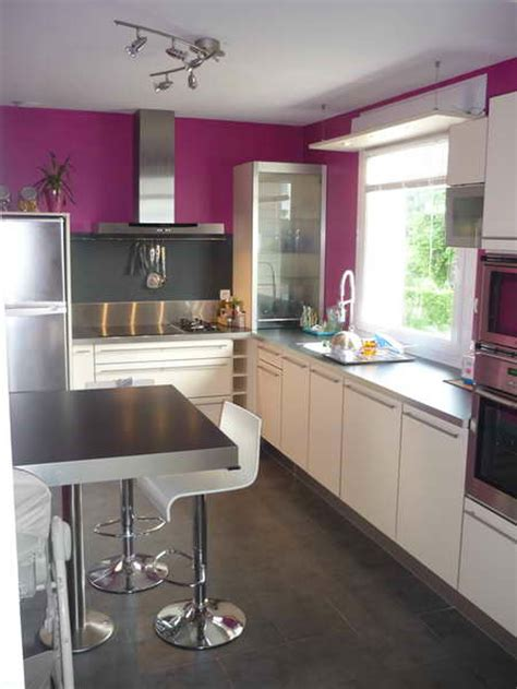 cuisine couleur meuble de cuisine blanc quelle couleur pour les murs