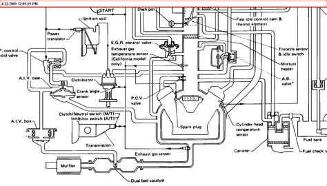 V6 Engine Diagram With Name by 1989 Nissan Truck V6 Automatic Transmission I Need A