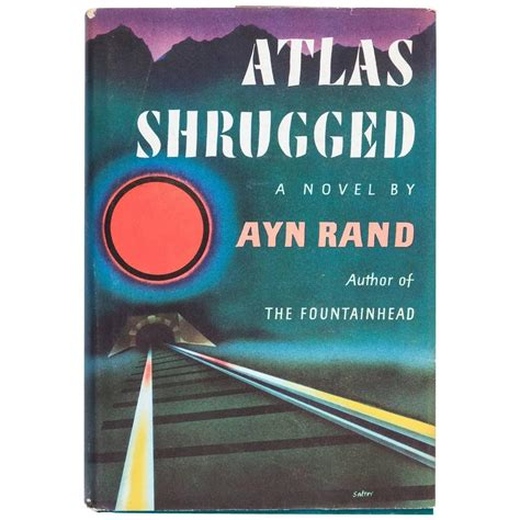 atlas shrugged by ayn rand edition with dust jacket circa 1957 at 1stdibs