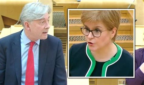 Sturgeon squirms when confronted over paradoxical COVID-19 ...