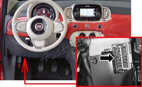 2012 Fiat 500 Fuse Box Location by Fuse Box Diagram Gt Fiat 500 500c 2008 2019
