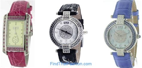 effy liberty pink sapphire  tcw mother  pearl dial