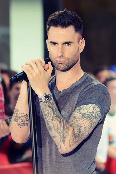 top  adam levine haircut  hairstyles page