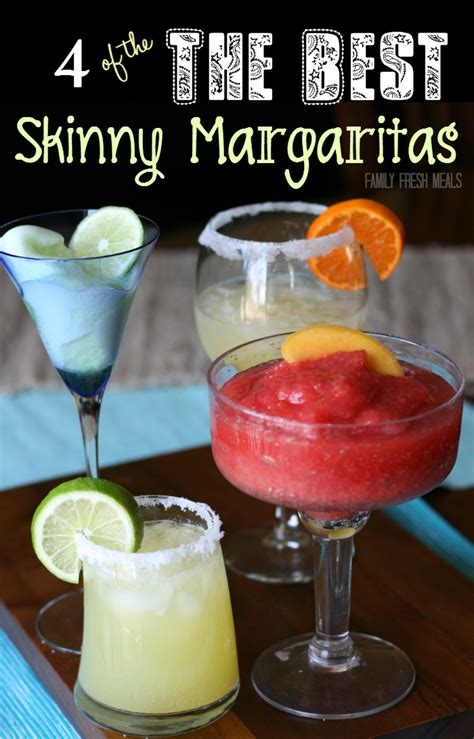 skinny margarita recipes family fresh meals