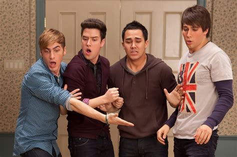 Big time rush is an american pop music boy band formed in 2009. Big Time Rush Members Had a Mini Reunion   Teen Vogue