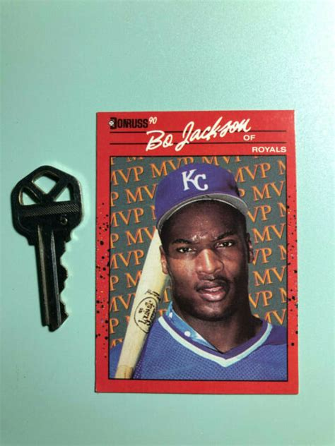 Maybe you would like to learn more about one of these? 1990 Bo Jackson of Royals Donruss BC-1 Baseball Card Pristine Card One Owner | eBay