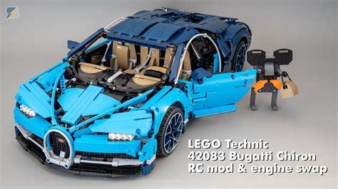 lego bugatti 42083 lego technic 42083 bugatti chiron rc mod engine