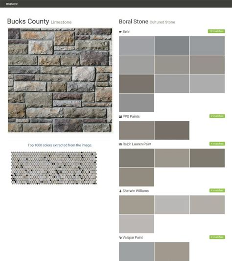 bucks county limestone cultured boral behr