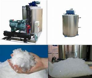 Newest Technology Commercial Flake Ice Machine Used In