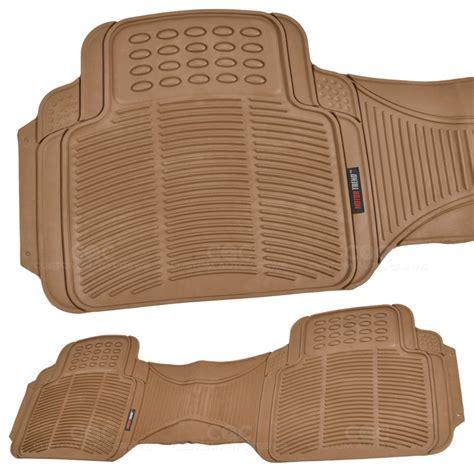 vans doormat motor trend eco tech truck rubber floor mats w cargo