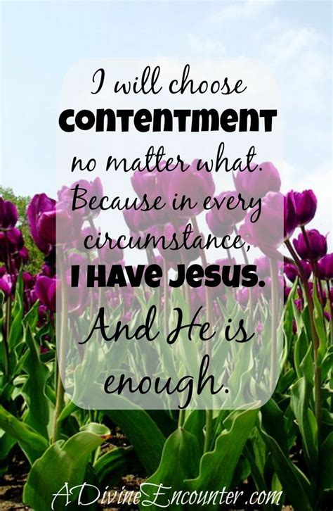 Christian Contentment Quotes