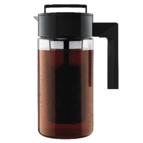 With cold brewing, only the naturally delicious coffee flavors are extracted, leaving behind the bitter oils. Takeya cold brew coffee maker for $16 - Clark Deals