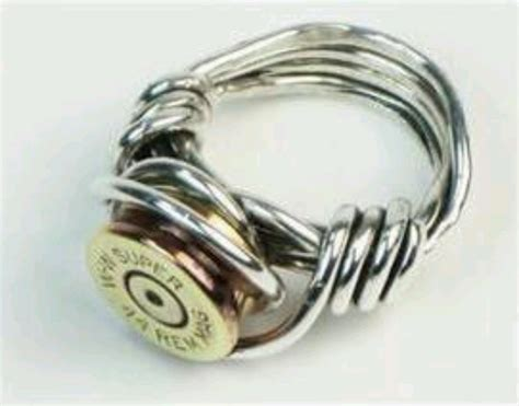 You Might Be Are Redneck If Your Wedding Ring A Bullet