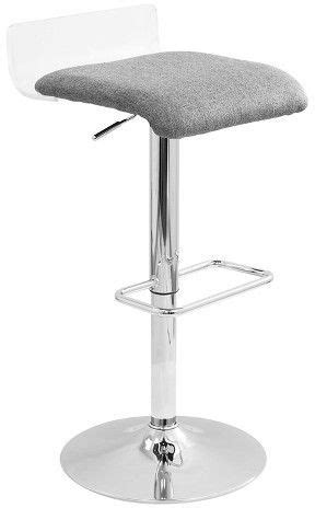 Lumisource Swerve Contemporary Adjustable Barstool