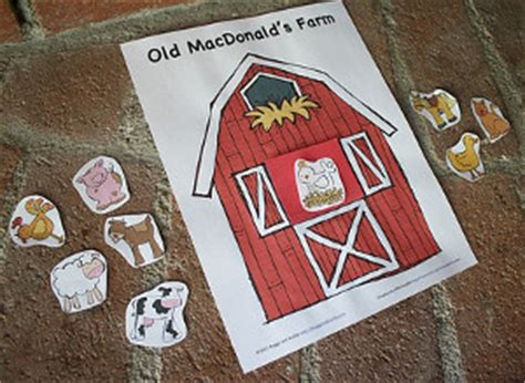printable farm animals game allfreekidscraftscom