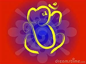 Om Ganesha Royalty Free Stock Image - Image: 1388866