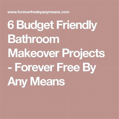Bathroom Makeover Budget Friendly Projects