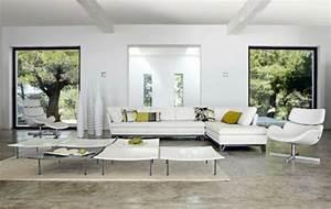 Moderne Kissen Für Sofa : 120 wohnideen f r luxuri se wohnzimmer m bel von roche bobois ~ Bigdaddyawards.com Haus und Dekorationen