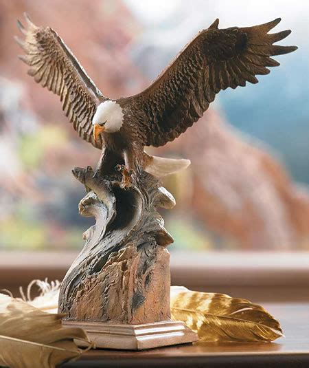 splash  bald eagle sculpture mill creek studios