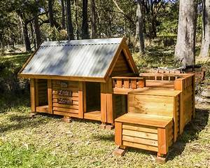 wooden dog kennels With custom wood dog kennels