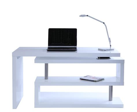 bureau d angle blanc laqué bureau d 39 angle blanc laqué fly bureau idées de
