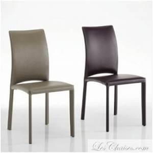 Chaise Longue Confortable : chaise cuir contemporaine gourmet et chaise en cuir confortable et moderne ~ Teatrodelosmanantiales.com Idées de Décoration