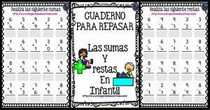 Fichas para repasar sumas y restas en Infantil Imagenes Educativas