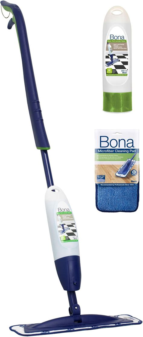 Bona Hardwood Floor Mop Kit by Bona Spray Mop Kit For Wood Floors