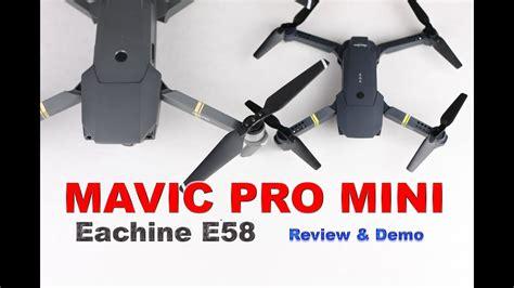 mavic pro mini  drone review demo youtube