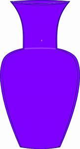 Purple Vase Clip Art at Clker.com - vector clip art online ...