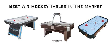 Best Air Best Air Hockey Tables In 2018 The Definitive Buying Guide