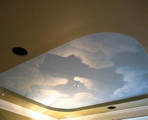 cloud ceiling murals  painted phrases paradise studios