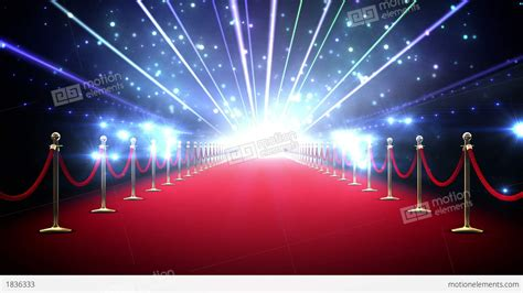 Magic Red Carpet Loop Stock Animation 1836333