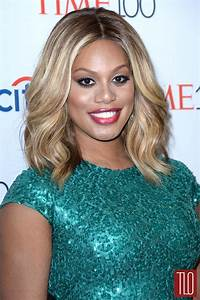 Laverne Cox in Marc Bouwer at the 2015 Time 100 Gala | Tom ...