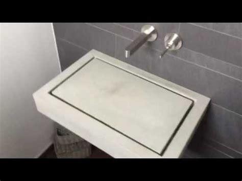 betonwaschbecken waschbecken aus beton betonwaschtisch waschbecken design waschbecken
