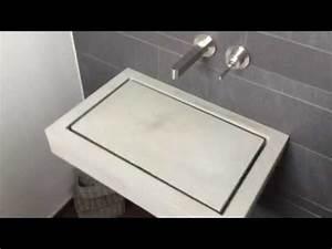 Waschbecken Aus Beton Selber Bauen : betonwaschbecken waschbecken aus beton betonwaschtisch waschbecken design waschbecken youtube ~ Markanthonyermac.com Haus und Dekorationen