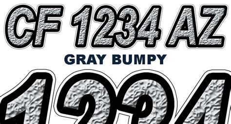 Custom Boat Numbers by Boat Registration Numbers Custom Boat Registration