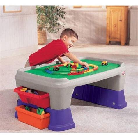 Little Tikes Easyadjust Play Table Trains