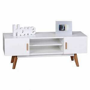 Tv Lowboard Weiß Holz : finebuy retro tv lowboard scanio 120 cm mdf holz real ~ Bigdaddyawards.com Haus und Dekorationen
