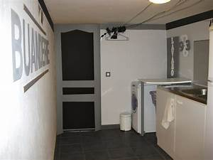 Porte Interieur Grise : porte grise et carrelage photo 7 9 qu 39 en pensez vous ~ Mglfilm.com Idées de Décoration