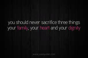 Family Quotes About Sacrifice