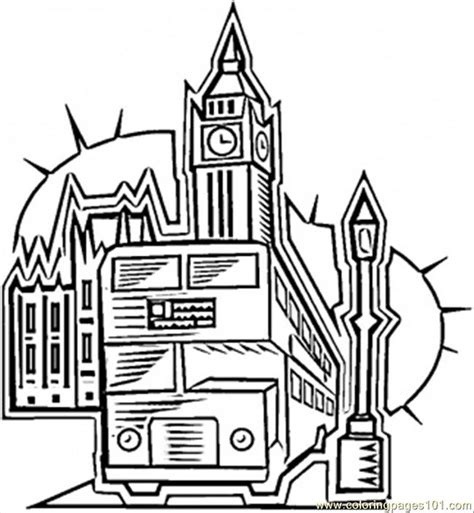 london coloring page  great britain coloring