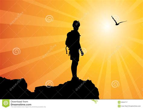backpacker cartoons illustrations vector stock images