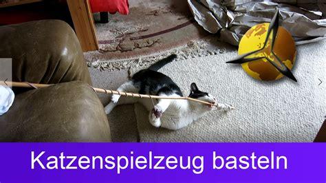 katzenspielzeug basteln ideen katzenspielzeug selber basteln bauen