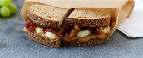Apple Bacon And Peanut Butter Sandwiches by Recipes Peanut Butter Bacon And Banana Sandwich Applegate