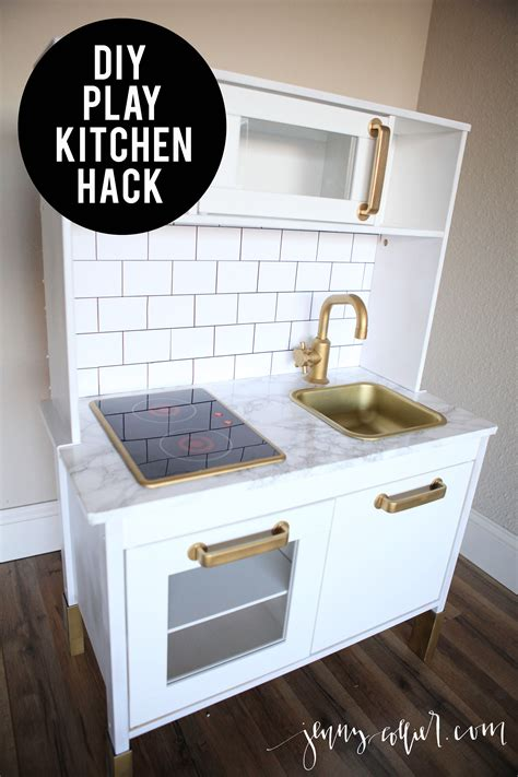 diy ikea play kitchen hack jenny collier blog