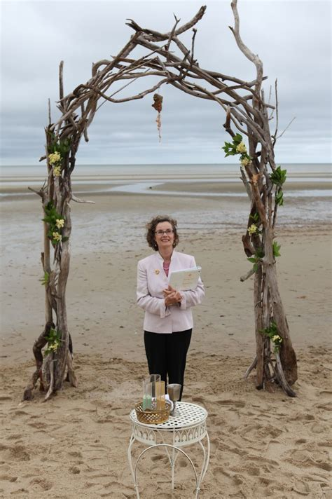 This Wedding Arch Was Crafted By The Brides Brother From