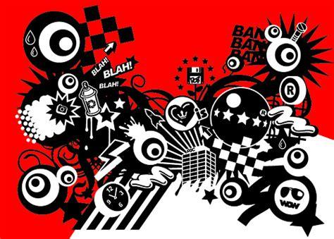 tide  red  black design elements vector